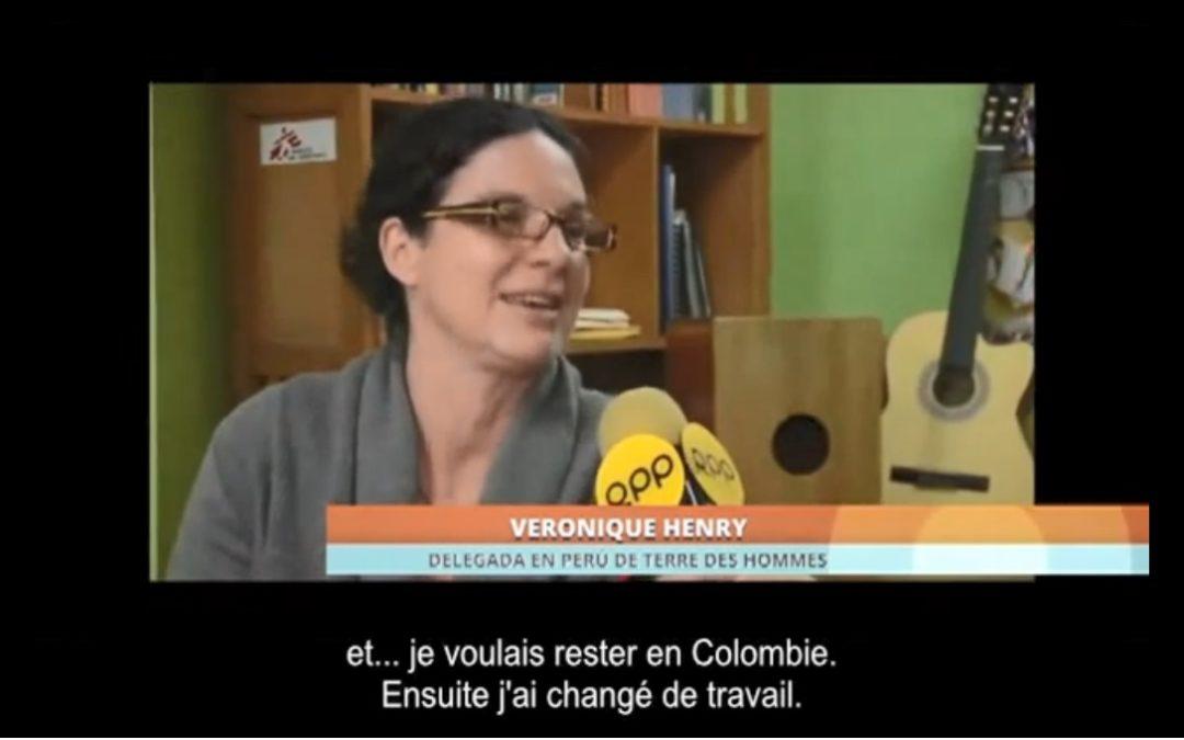 Véronique Henry, delegada de Tdh-Lausanne en Perú habla sobre la Justicia Juvenil en los medios de comunicación