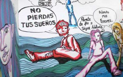 Adolescentes restauran sala de retención de comisaría La Familia de Chiclayo