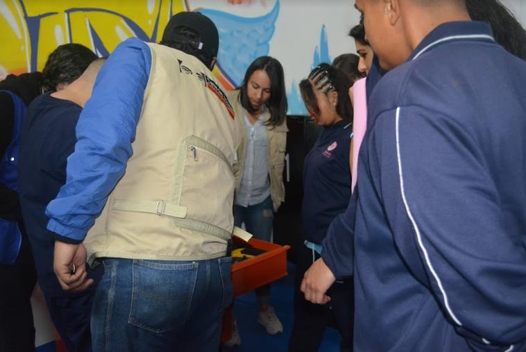Se realiza la apertura de los primeros talleres de bicicletas para la capacitación en mecánica para jóvenes privados de la libertad en Bogotá