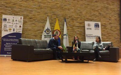 """""""Esto es Otra vuelta"""", el proyecto que Tdh desarrolla en Colombia es presentado en el I Diplomado de Justicia Restaurativa liderado por la Procuraduría General de la Nación"""
