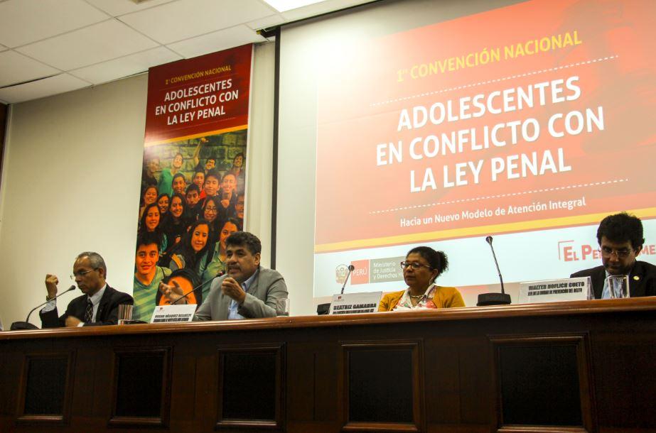 Exitosa participación de Tdh en la I Convención Nacional de Adolescentes en Conflicto con la Ley Penal en Perú