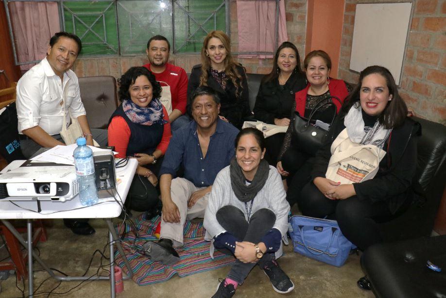 Tdh lidera pasantía en Perú con funcionarios del gobierno de la República de Honduras
