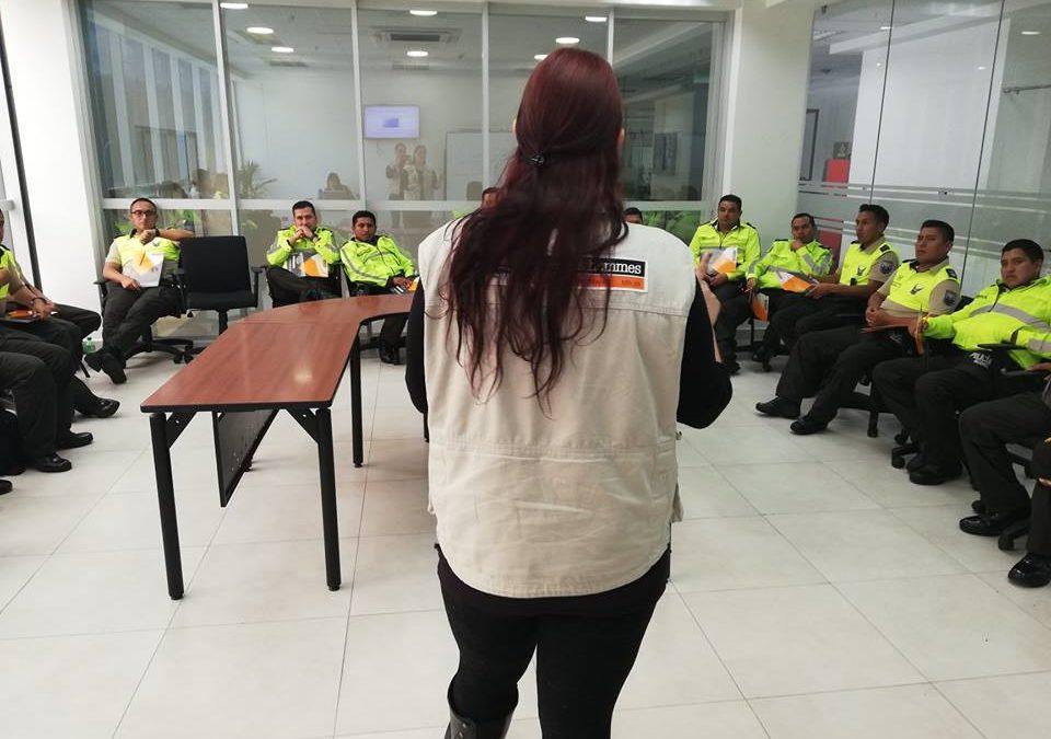 Tdh realiza capacitación en Justicia Juvenil Restaurativa a miembros de la Policía Nacional del Ecuador