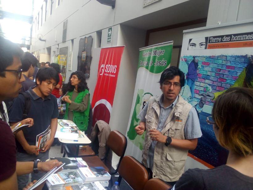 Tdh participa en la feria de la Facultad de Psicología de la Universidad Nacional Mayor de San Marcos en Perú