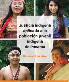 Justicia indígena aplicada a la población juvenil indígena de Panamá