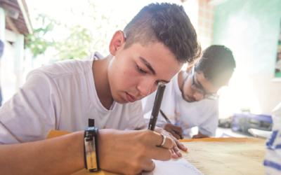 """A través del """"Mucuripe da Paz"""", los jóvenes del barrio Vicente Pinzón participan en círculos de diálogo, eventos culturales y actividades formativas que los consolidan como agentes de paz"""