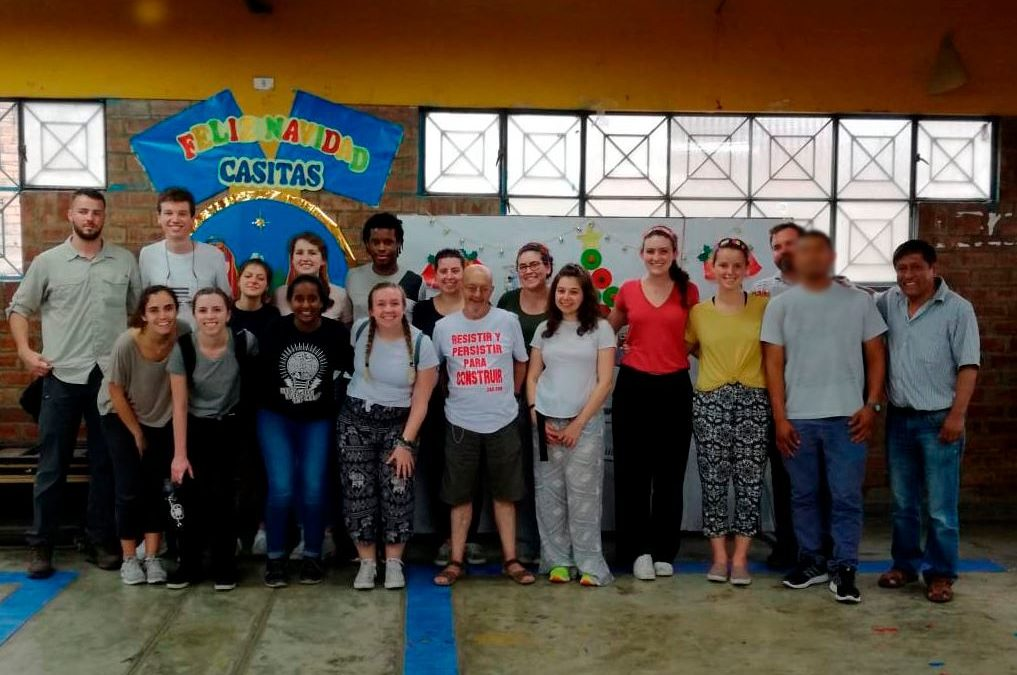 Tdh en Perú lidera pasantía para estudiantes de la Universidad de Boston
