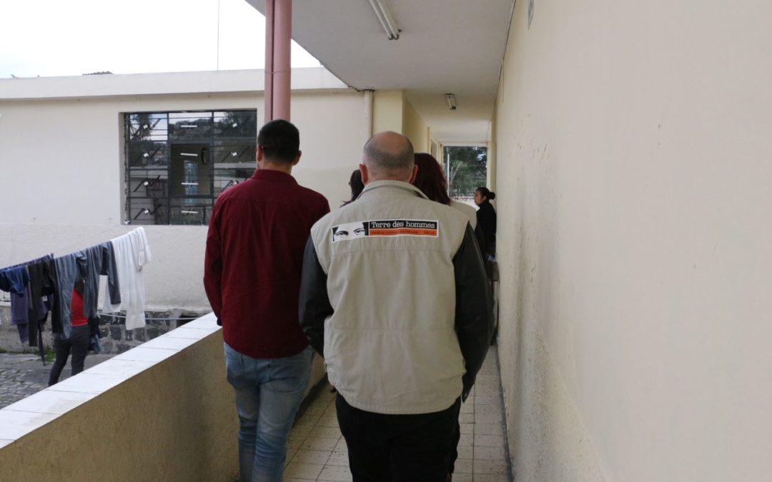 El equipo de Tdh llega a Centros de Adolescentes Infractores en Quito, Ecuador