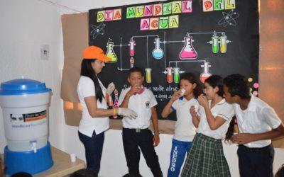 Más de 1200 adolescentes y jóvenes de Tierralta y Puerto Libertador en Córdoba, Colombia celebran el día mundial del agua