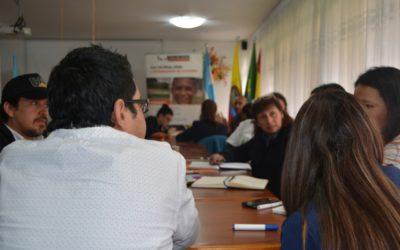 Organizaciones comprometidas con la reintegración de adolescentes y jóvenes en Bogotá, se reúnen para establecer una hoja de ruta que fortalezca sus procesos de atención.