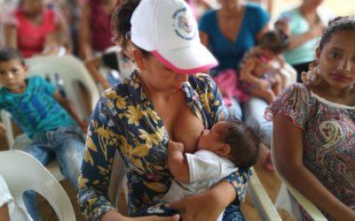 Tdh impulsa la lactancia materna para los niños y las niñas de Puerto Libertador y Tierralta en Colombia
