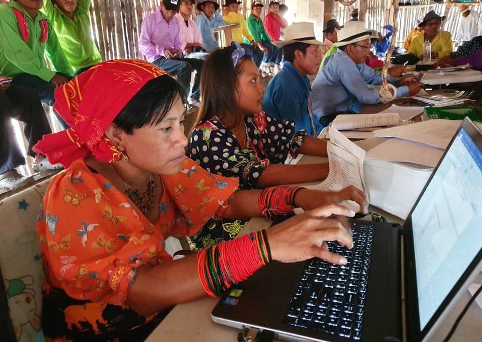 Tdh participa en el Congreso General de la comunidad indígena Guna en Panamá para hablar sobre justicia juvenil indígena