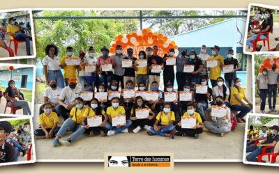 41 Personas participaron en la primera actividad de cierre, del proyecto 'Entornos Protectores' ejecutado por Tdh en Tierralta