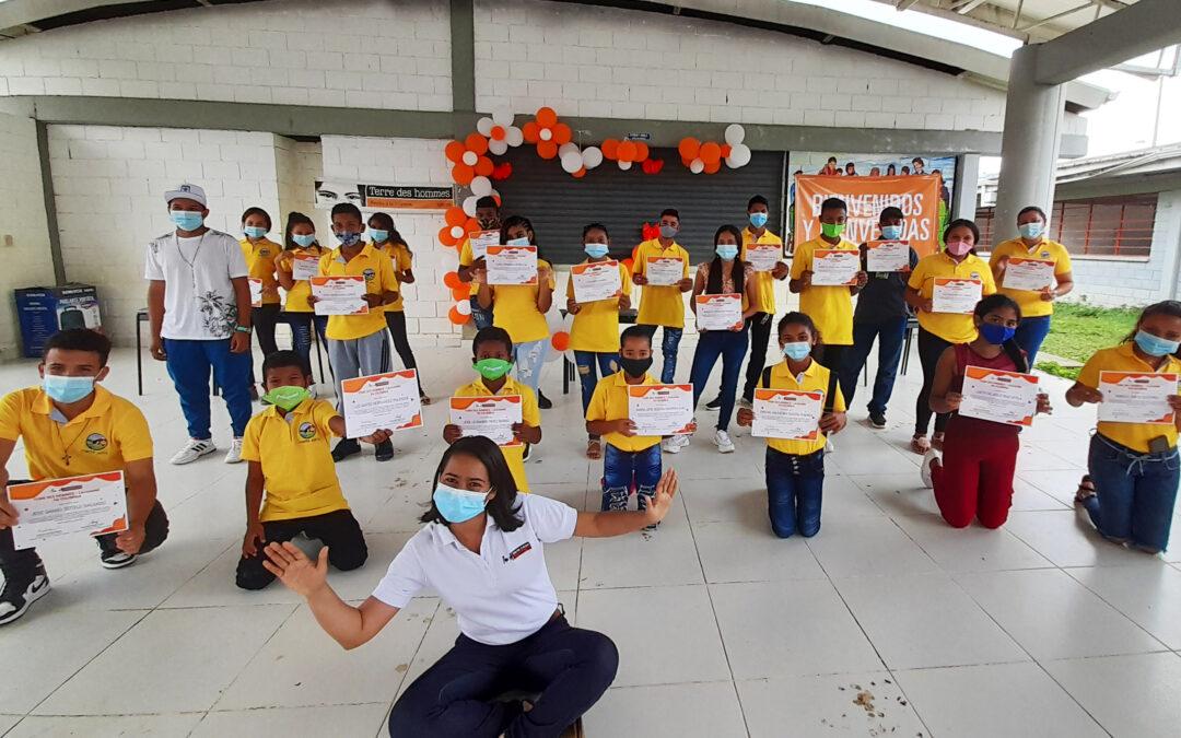 En San Juan los y las adolescentes se comprometieron con su proyecto de  vida y el medio ambiente