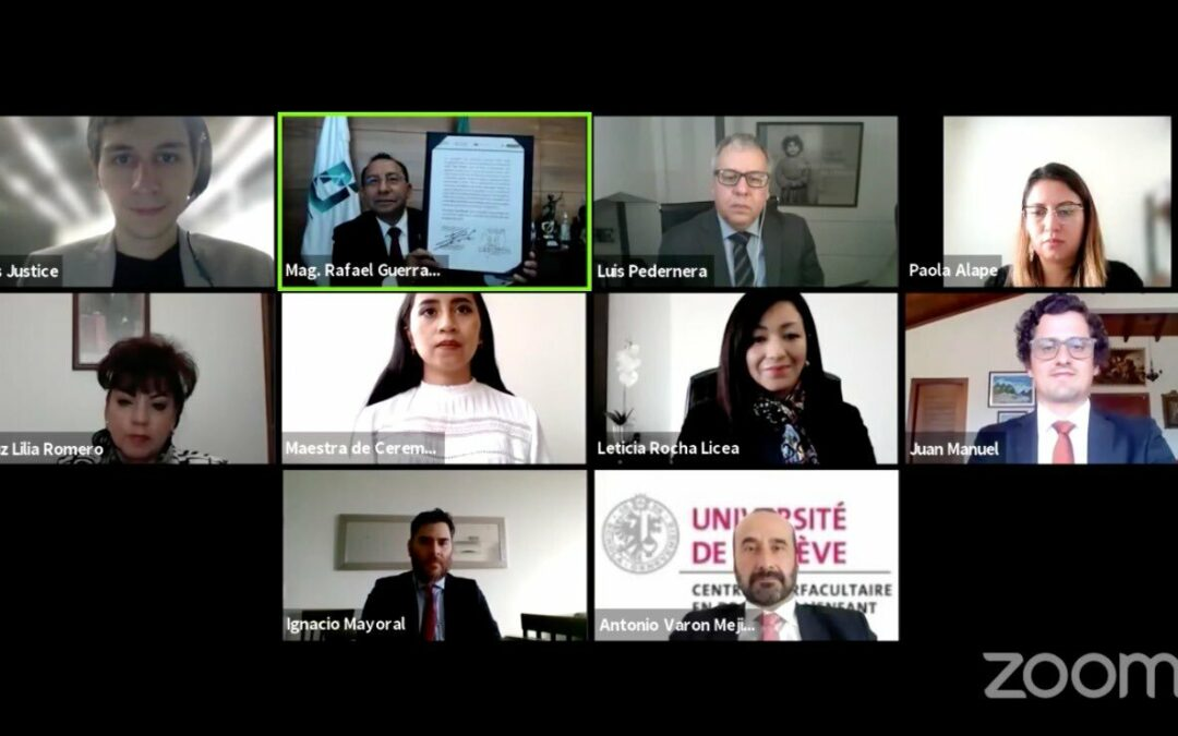 La Fundación Terre des hommes en Colombia y el Poder Judicial de la ciudad de México firmaron convenio de colaboración